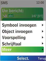 Nokia X2-00 - MMS - Afbeeldingen verzenden - Stap 9