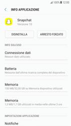 Samsung Galaxy S6 - Android Nougat - Applicazioni - Come disinstallare un