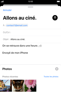 Apple iPhone 8 Plus - iOS 13 - E-mail - envoyer un e-mail - Étape 10