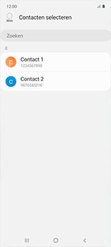 Samsung galaxy-a51-sm-a515f - Contacten en data - Contacten kopiëren van toestel naar SIM - Stap 9