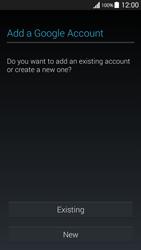 Samsung G530FZ Galaxy Grand Prime - Applications - Create an account - Step 4