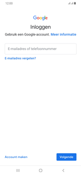 Samsung Galaxy A30 - apps - account instellen - stap 5