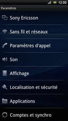 Sony Xperia Ray - Internet - Configuration manuelle - Étape 4