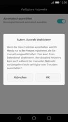 Huawei Ascend P8 - Netzwerk - Manuelle Netzwerkwahl - Schritt 9