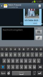 Samsung Galaxy Note 2 - MMS - Erstellen und senden - 1 / 1