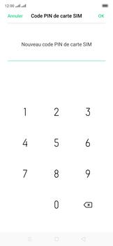 Oppo Reno 2Z - Sécuriser votre mobile - Personnaliser le code PIN de votre carte SIM - Étape 12
