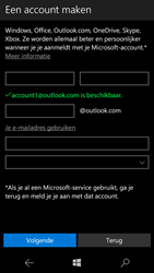 Microsoft Lumia 650 - apps - account instellen - stap 15
