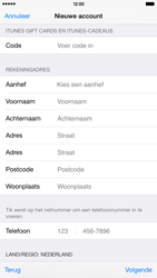 Apple iPhone 6 Plus (iOS 8) - apps - account instellen - stap 20