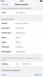 Apple iPhone 6 Plus (Model A1524) - Applicaties - Account aanmaken - Stap 20