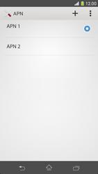 Sony Xperia Z1 Compact - MMS - Configuration manuelle - Étape 16