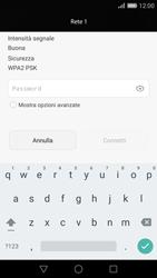 Huawei Ascend P8 - WiFi - Configurazione WiFi - Fase 6