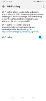 Huawei P30 - WiFi - Enable WiFi Calling - Step 9