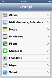 Apple iPhone 4S - E-mail - Manual configuration - Step 3