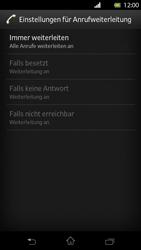 Sony Xperia T - Anrufe - Rufumleitungen setzen und löschen - Schritt 8