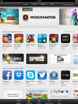 Apple iPad Retina - Apps - Installieren von Apps - Schritt 4