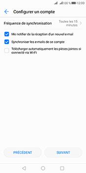 Huawei Mate 10 Pro - E-mails - Ajouter ou modifier votre compte Outlook - Étape 7