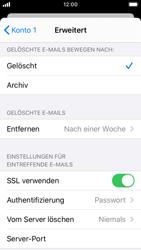 Apple iPhone SE - iOS 13 - E-Mail - Manuelle Konfiguration - Schritt 22