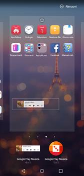 Huawei P20 - Operazioni iniziali - Installazione di widget e applicazioni nella schermata iniziale - Fase 8
