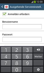 Samsung S7275 Galaxy Ace 3 - E-Mail - Konto einrichten - Schritt 14