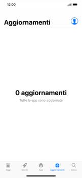 Apple iPhone XR - Applicazioni - Come verificare la disponibilità di aggiornamenti per l