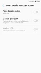 Samsung Galaxy J3 (2017) - Internet et connexion - Partager votre connexion en Wi-Fi - Étape 6