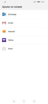 Huawei P Smart (2019) - E-mails - Ajouter ou modifier votre compte Outlook - Étape 4