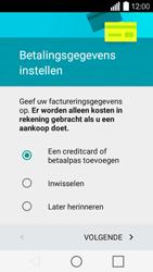 LG Leon 3G (H320) - apps - account instellen - stap 15