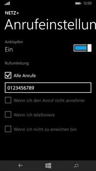 Microsoft Lumia 640 XL - Anrufe - Rufumleitungen setzen und löschen - Schritt 10