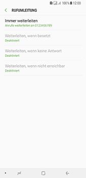 Samsung Galaxy A8 Plus (2018) - Anrufe - Rufumleitungen setzen und löschen - Schritt 12