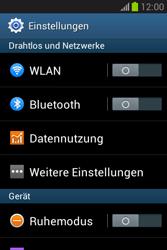 Samsung Galaxy Fame Lite - Internet und Datenroaming - Manuelle Konfiguration - Schritt 4