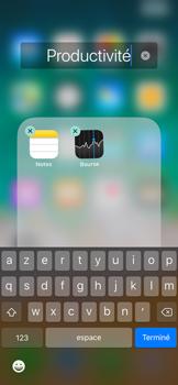 Apple iPhone X - Prise en main - Personnalisation de votre écran d