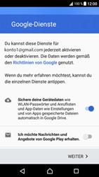 Sony Xperia XA1 - Apps - Konto anlegen und einrichten - Schritt 17