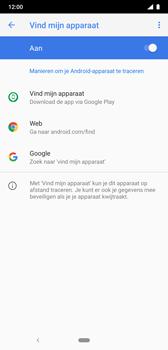 Nokia 8-1 - Beveiliging en privacy - zoek mijn mobiel activeren - Stap 6