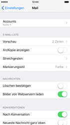 Apple iPhone 7 - E-Mail - Konto einrichten - 16 / 32