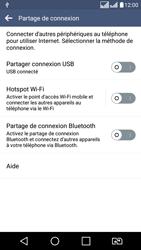 LG LG K8 - Internet et connexion - Utiliser le mode modem par USB - Étape 7