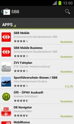 Samsung Galaxy S II - Apps - Installieren von Apps - Schritt 20