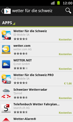 Samsung Galaxy S Advance - Apps - Installieren von Apps - Schritt 13