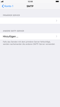 Apple iPhone 6s Plus iOS 11 - E-Mail - Manuelle Konfiguration - Schritt 17