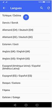 Huawei P20 Pro - Android Pie - Prise en main - Comment ajouter une langue de clavier - Étape 8