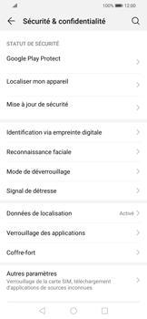 Huawei P Smart 2020 - Sécuriser votre mobile - Activer le code de verrouillage - Étape 4