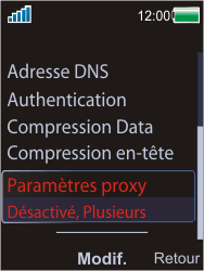 Sony W595 - MMS - Configuration manuelle - Étape 15