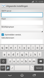 Sony D5803 Xperia Z3 Compact - E-mail - Account instellen (IMAP zonder SMTP-verificatie) - Stap 12