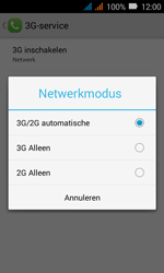 Huawei Y3 - Netwerk - Wijzig netwerkmodus - Stap 6