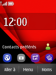 Nokia Asha 300 - Internet - Examples des sites mobile - Étape 1