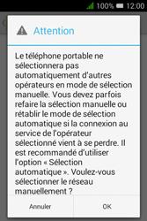Alcatel Pixi 3 (3.5) - Réseau - Sélection manuelle du réseau - Étape 10