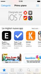 Apple iPhone 5 iOS 7 - Applicazioni - Installazione delle applicazioni - Fase 4