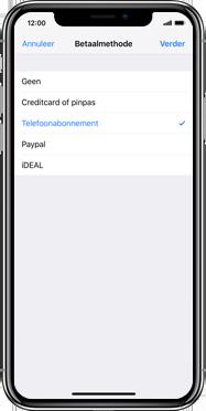 Apple iPhone SE (2020) (Model A2296) - Applicaties - Aankopen doen in de App Store met je KPN abonnement - Stap 7