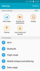 Samsung Galaxy S6 Edge - Internet and data roaming - Manual configuration - Step 4