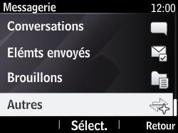 Nokia Asha 210 - Messagerie vocale - Configuration manuelle - Étape 4