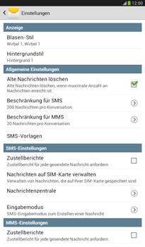 Samsung Galaxy Tab 3 7-0 - SMS - Manuelle Konfiguration - 6 / 9